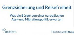 Grenzsicherung und Reisefreiheit