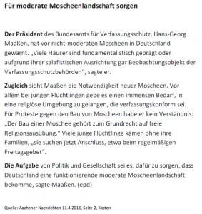 Moscheenlandschaft