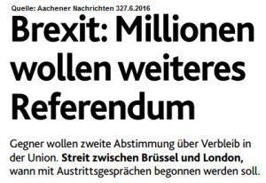 Brexit Neu