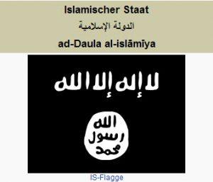 Flagge Islamischer Staat