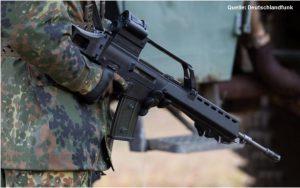 Bild Soldat mit Gewehr