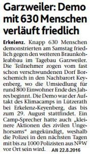 Grazweiler 22.8.2016