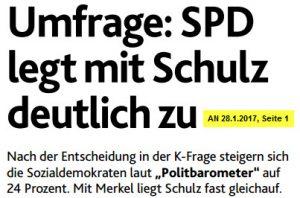 SPD legt zu