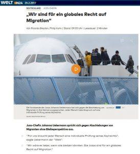 Globales Recht auf Migration