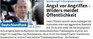 Wilders Wahlkampf