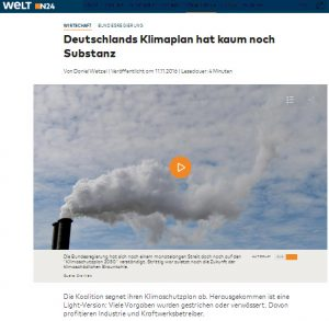 Deutschlands Klimaplan