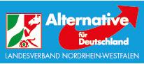 Logo AfD NRW