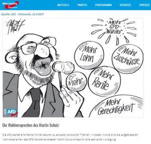 Schulz AfD satire