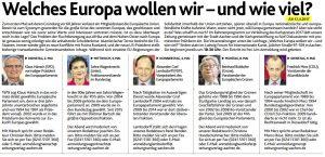 Wieviel Europa