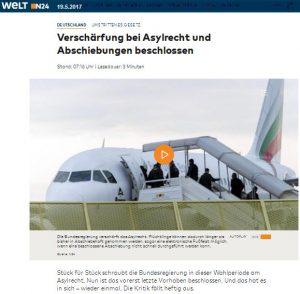 Abschiebung Asyl