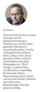 Blog thomas schmid