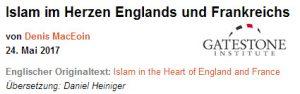 Islam Frankreich England