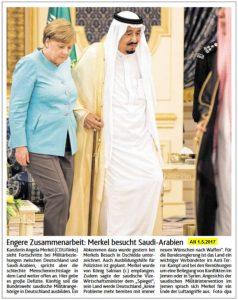Merkel Saudi-Arabien