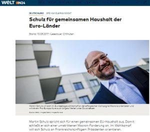 Schulz Macron