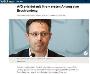 AfD NRW Demokratieklausel