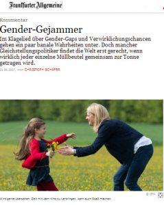 Gender gejammer