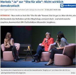 Merkel Ehe