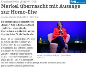 Merkel Homoehe
