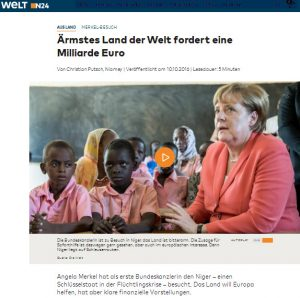 Niger milliarde