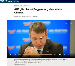 Poggenburg Abmahnung