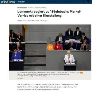 Steinbach merkel