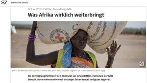 Was Afrika hilft